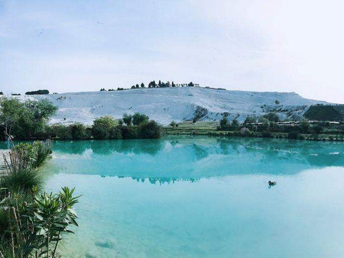 Águas Termais, Pamukkale, Turquia