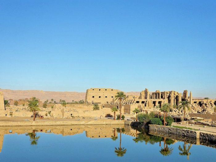 Templo de Karnak em Luxor. Egito