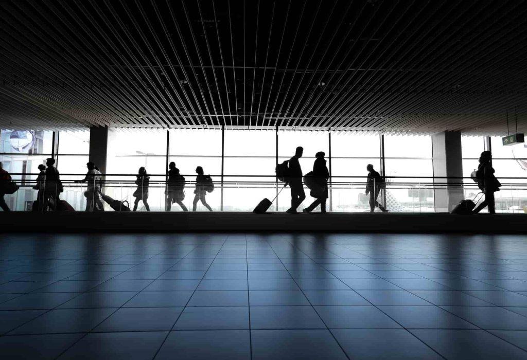 aeroporto embarque