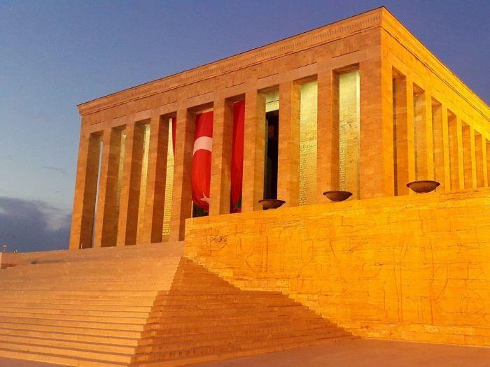 Mausoléu Ataturk, Ancara, Turquia