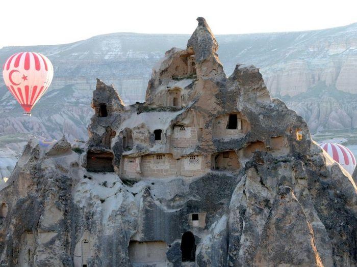 Cavernas na Capadócia, Turquia