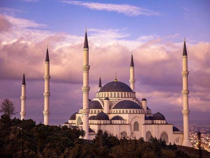 Mesquita Azul em Istambul, Turquia