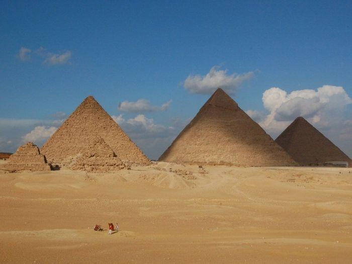 Pirâmides no Cairo, Egito