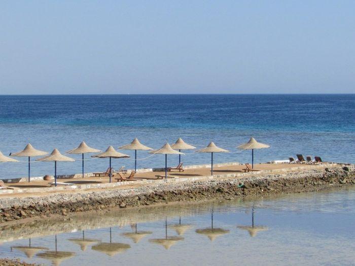 Praia no Mar Vermelho, Egito