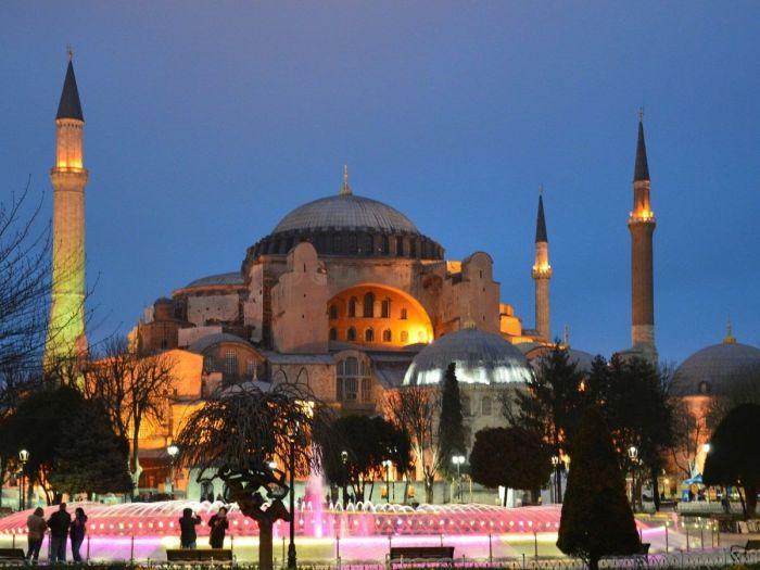 Igreja de Santa Sofia em Istambul