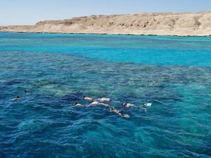 Snorkel em Hurghada, Mar Vermelho, Egito