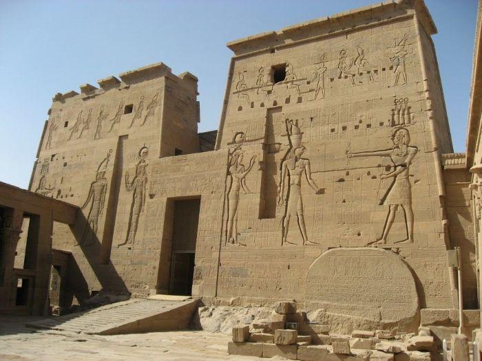 Templo de Philae (Deusa Ísis) em Aswan