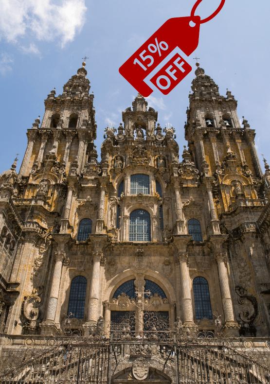 Destaque- Viagem para Santiago de Compostela - Promoção