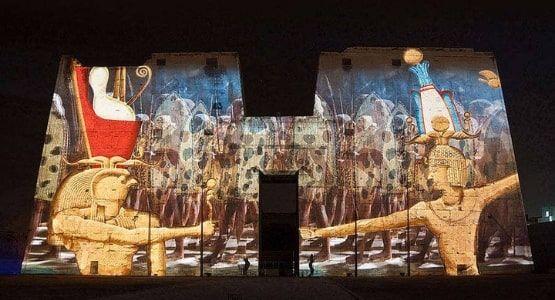 Show de Luzes e Som - Templo Philae - Aswan