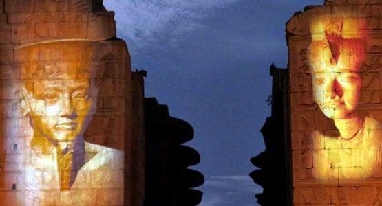 Show de Luzes e Som - Templo Karnak - Luxor